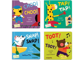 What's That Noise Board Book Set of 4