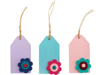Felt Flowers – Pack of 100