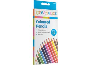 Creatistics Coloured Pencils – Pack of 12