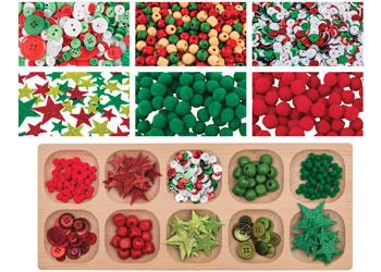 christmas collage sorting kit craft kits - Christmas Photo Collage