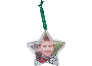 Plastic Star Ornaments – Pack of 10