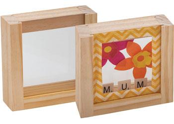 Small Box Display Frame