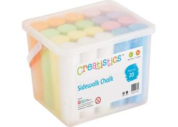 Sidewalk Chalk – Tub of 20