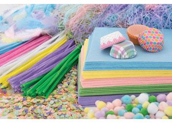 Pastel Craft Crate Kit