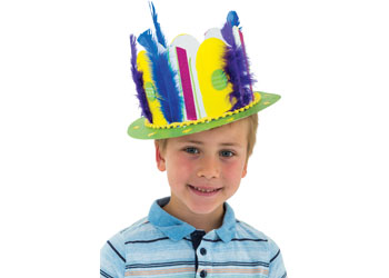 66d3d5e4e5f Cardboard Easter Hat – Pack of 10 - MTA Catalogue