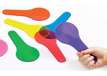 Colour Paddles 6 x 150mm