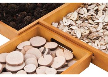 Nesting Wooden Trays – Set of 3