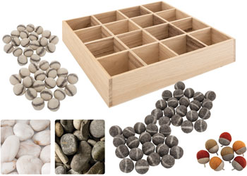 Large Tree Blocks bag varied shapes /& sizes logs Authentic build /& construct objects arches Children can design open-ended pieces with bark slices natural discs ideal for small world play