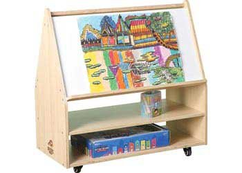 Natural Spaces – Big Book Teacher Station