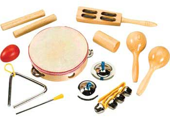Percussion Set – 9 Pieced in Bag
