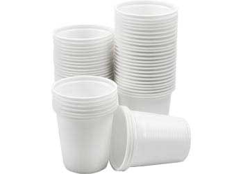Plastic Cups 180ml Pack of 50
