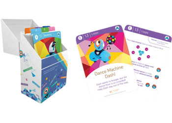 Dash Dot Learn To Code Challenge Cards Set Of 72 Cards Mta