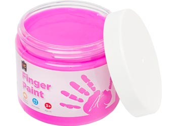 Finger Paint Pink – 250ml Tub