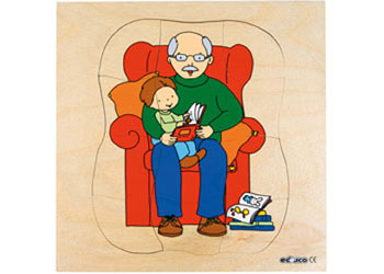 Grow Inset Puzzle – Grandfather