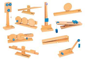 Wooden Simple Machines Set Of 10 Mta Catalogue