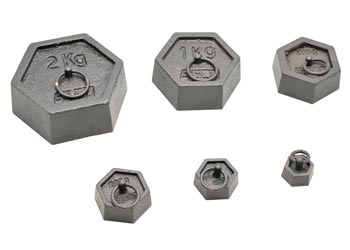 Iron Weight – Hexagonal w lifting ring 1kg - MTA Catalogue