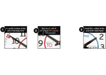 Easy Read Classroom Clock