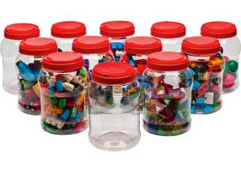 Handy Storage Containers 3 Litres – Pack of 12