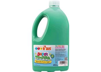 FAS Super Tempera Paint – Green 2 Litre