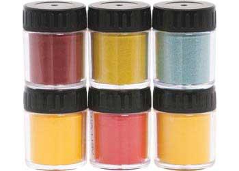 Vegetable Powder Dyes Primary Set Of 6   Paint   Powder U0026 Vegetable Dye