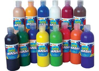 Total Wash Paint – Black 500ml