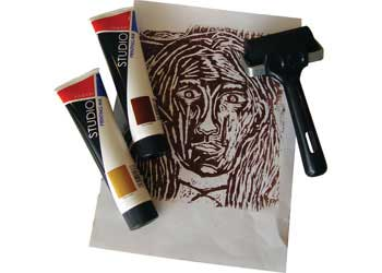 Printing Ink Set of 6