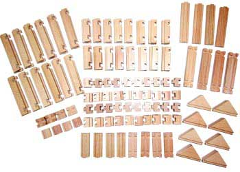 The Budding Builder Construction Set – 100 pieces