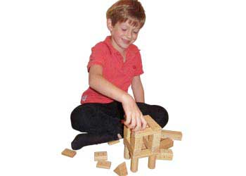 Magnetic Wooden Blocks – 30 pieces