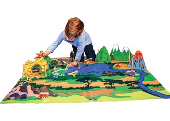 The Happy Architect Dinosaur World Amp Play Mat Mta Catalogue