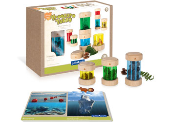 Colourful Treasure Tubes – 8 pieces