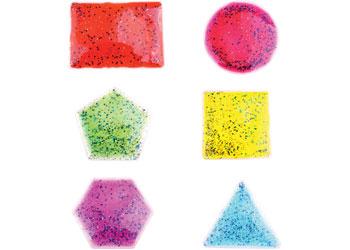 Teachables – Liquid Filled Sensory Shapes – 6 pieces