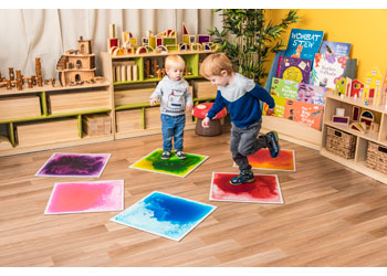 Surfloor Sensory Liquid Floor Tiles Set Of 6 Mta