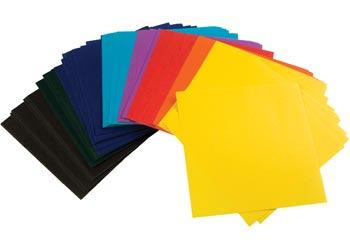 Coloured Paper Shapes - Paper & Cardboard - Art & Craft