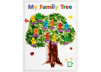 family tree poster pack of 24 mta catalogue