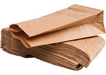 Paper Bags Natural 11.5 x 21.5 – Pack of 100