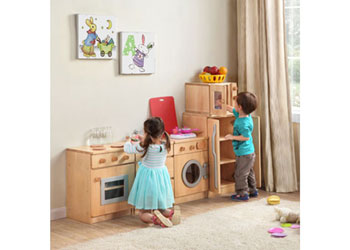 Harmony pretend play kitchen set of 5 mta catalogue for Kitchen set environment