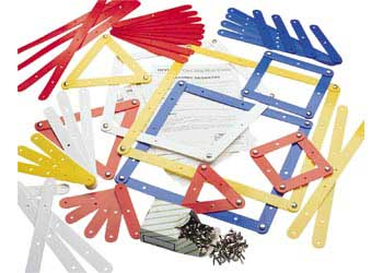 Geo Strips – Set of 68 with 11 Work Cards
