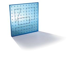 Invicta Translucent 10 x 10 Pinboard