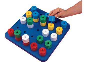 Invicta – Big peg Board – 25 pegs