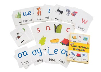 Jolly Phonics Picture Flashcards - MTA Catalogue