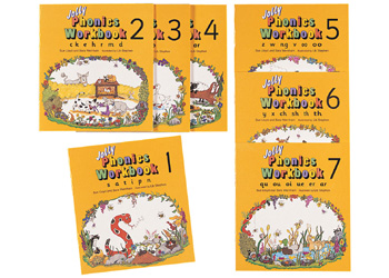 Jolly Phonics Workbook 1-7