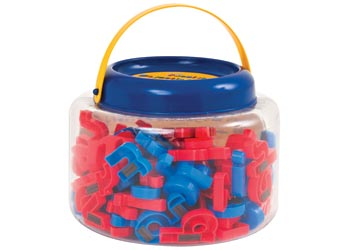 Jolly Phonics Magnetic Letters Tub of 106