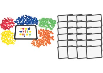 Magnetic Whiteboards X 24 With Bonus Letters