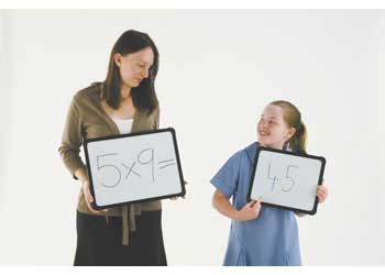 Teachables Magnetic Whiteboard 30cm x 40cm