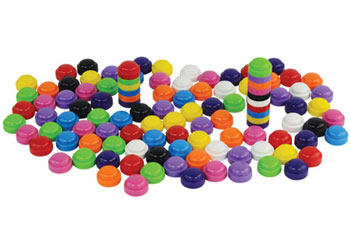 Stackable counters – 2cm – 1000 pieces in Container