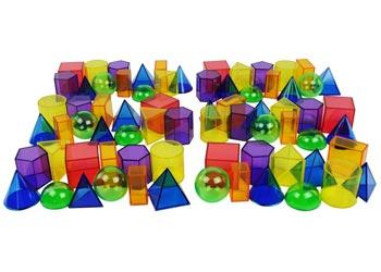 Translucent Geometric Shapes Class Set Mta Catalogue