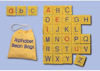 Alphabet Bean Bags – Set of 26