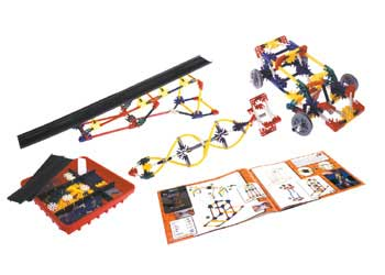 K'NEX – Intro to Wheels & Axles and Inclined Planes