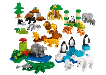 Lego Duplo Wild Animals Set 104 Pieces Mta Catalogue