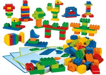 LEGO DUPLO Creative Brick Set – 160 pieces
